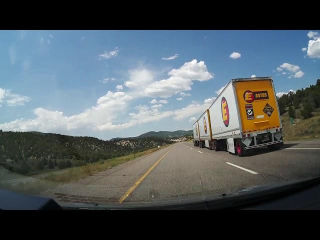 Superlapse Fry canyon to Salt Lake Utah 60p