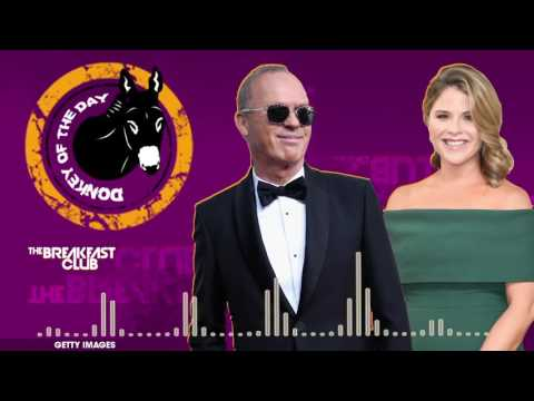 Michael Keaton & Jenna Bush Hager Flub 'Hidden Figures' at Golden Globes - Donkey of the Day