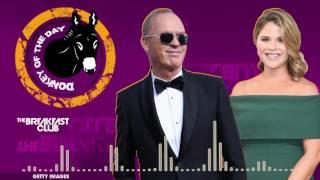 Michael Keaton & Jenna Bush Hager Flub