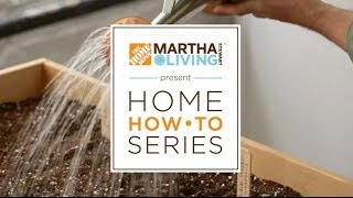 Martha Stewart And The Home Depot Team Up For New Home How-to Series