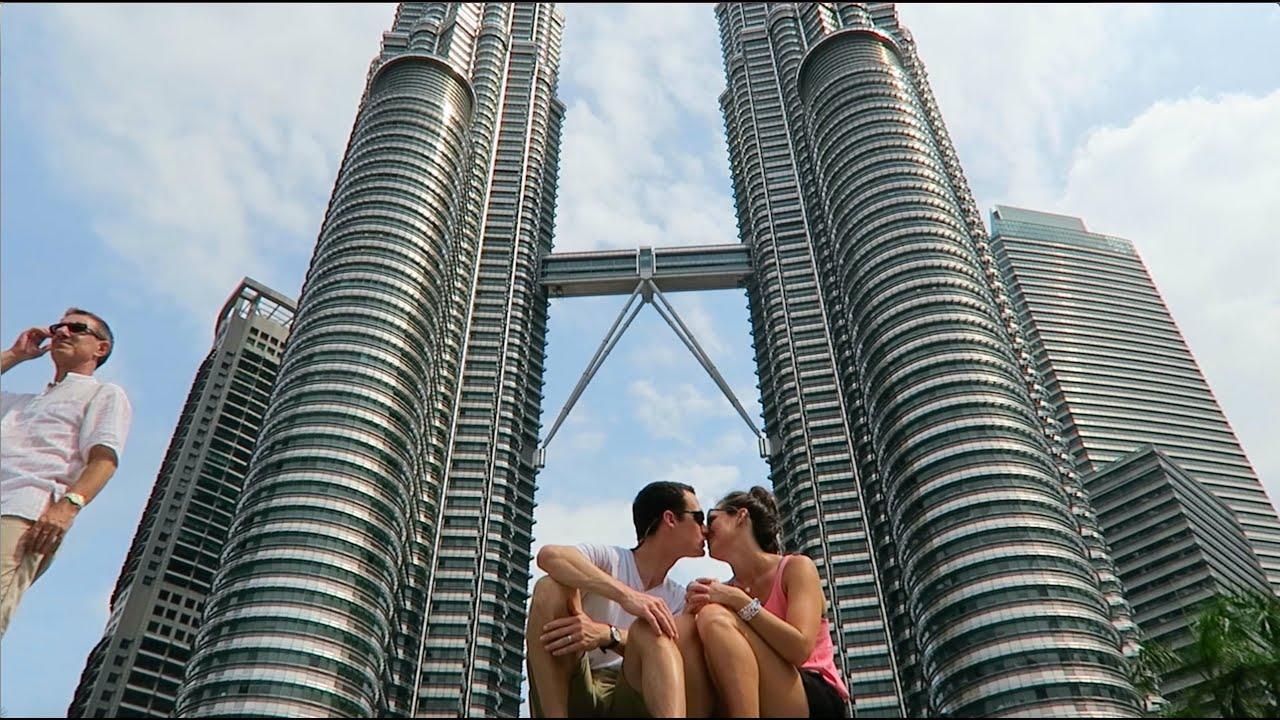 Iconic Petronas Towers Kuala Lumpur