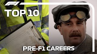 Top 10 Crazy Pre-F1 Careers