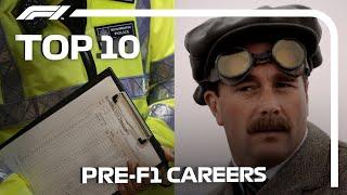 Top 10 Crazy Pre-F1 Careers