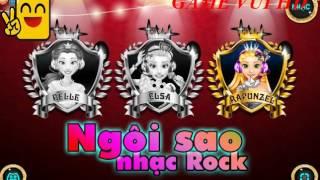 Game Ngôi sao nhạc Rock  ♥  Rock Star - game for children - em bi choi game