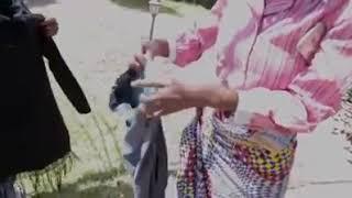 Kenyan  comedy shosho enjoys a vibrator.