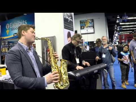 Everything Must Change - Michael Lington @ NAMM 2016 (Smooth Jazz Family)