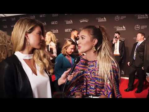 Lauren Daigle talking about God's hand through catastrophes - Dove Awards