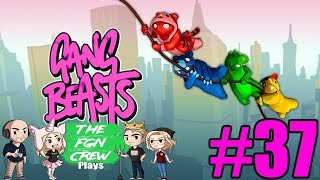 OLD LADY WITHERSPOON | GANG BEASTS GAMEPLAY #37