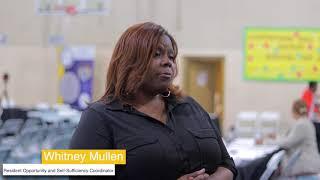 Whitney Mullen, Southtown Court ROSS Coordinator