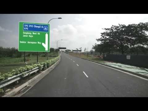 From Seletar West Link to TPE(PIE-Changi)/Jalan Kayu/Seletar Aerospace Way/Sengkang West Rd