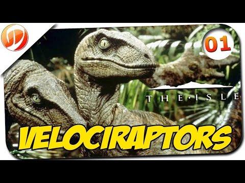 The Isle #1 - Velociraptor Map Mod Stoneclaw Highlands