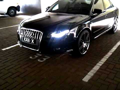Audi A4 B7 Led Lights Custom Colour 19 Quot Rs4 Wheels Youtube