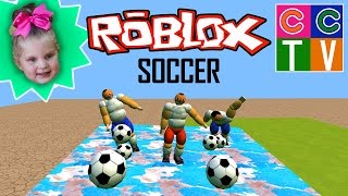 Courtney Plays Roblox Soccer and Boys and Girls Pool Hangout on iPad | Kid Gaming