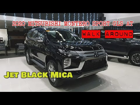 2020 Mitsubishi Montero Sport GLS AT 4x2 (Jet Black Mica)