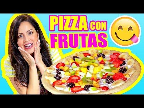 SERÁ RICO? PIZZA CON FRUTAS! COOKING con SandraCiresArt