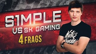 WATCH FIRST: s1mple vs SK Gaming de_overpass @ Wild Wild Bootcamp