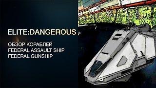 Elite:Dangerous - Обзор кораблей - Federal Assault Ship / Federal Gunship