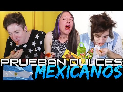 ► Argentines Test Mexican Sweets | Vloggers Argentina
