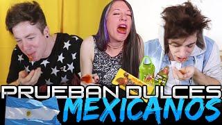 ► Argentinos Prueban Dulces Mexicanos | Vloggers Argentina thumbnail