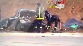 Death car crash: in car footage released