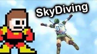Skydiving in Video Games- MGx