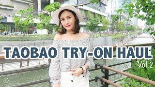 Taobao Try-On Haul 2016 淘寶購物戰利品開箱Vol.2|Mii黃小米