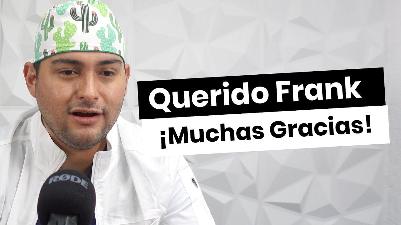 HOMENAJE A FRANK SUAREZ DE PARTE DE UN COLEGA - LA VERDAD SIEMPRE TRIUNFA. - METABOLISMO TV -