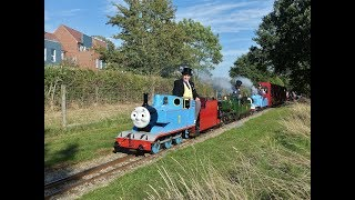 The final 'DAY OUT with THOMAS' at the Eastleigh Lakeside Steam Railway - 09/09/2018