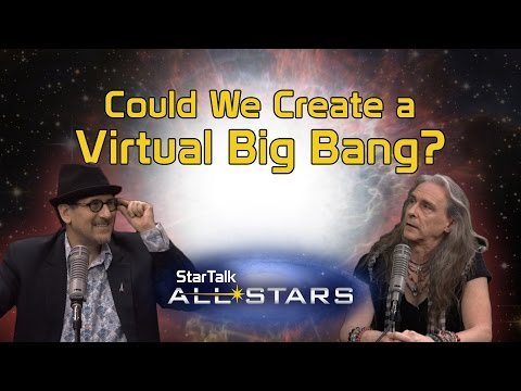 Could We Create a Virtual Big Bang? - Visualizing Our Universe, with Dr. FunkySpoon