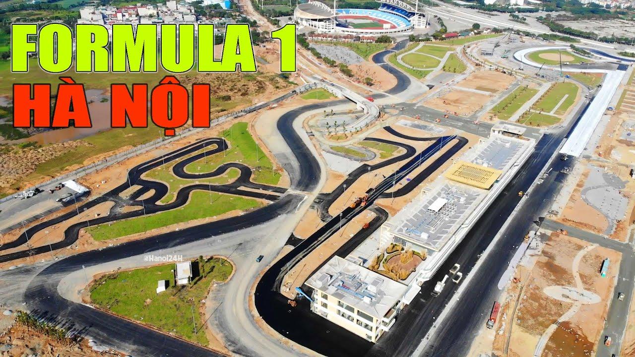 Cập nhật mới nhất đường đua F1 Hà Nội || Chạy đua với thời gian
