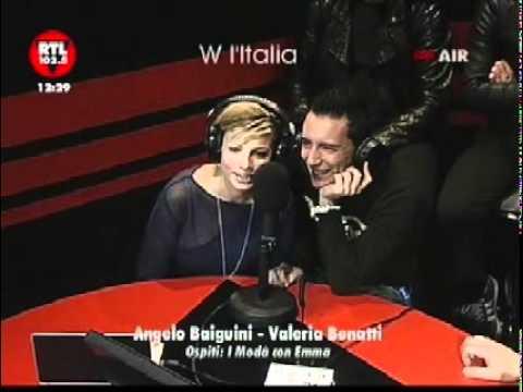 Modà e Emma ospiti a W l'Italia - Rtl 102.5 16/02/2011
