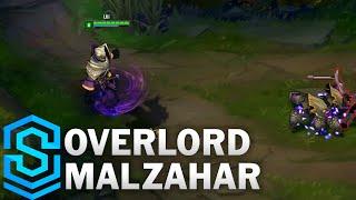 Overlord Malzahar Skin Spotlight - League of Legends