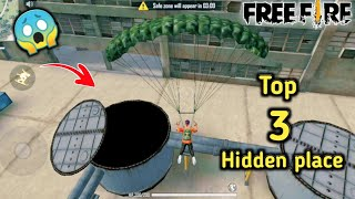 Freefire Top 3 hidden places in தமிழ் || Dont know this Places || Tamil battle gamers