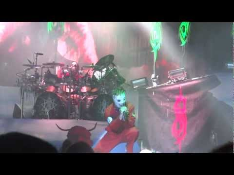 Slipknot- Vermillion Live HD Rockstar Mayhem Festival- Houston,Tx 7/11/12