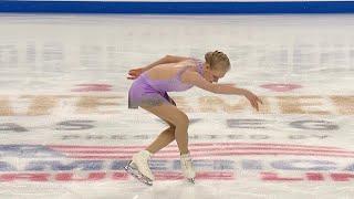 Брэди Теннел. Произвольная программа. Женщины. Skate America. Гран-при по фигурному катанию 2019/20