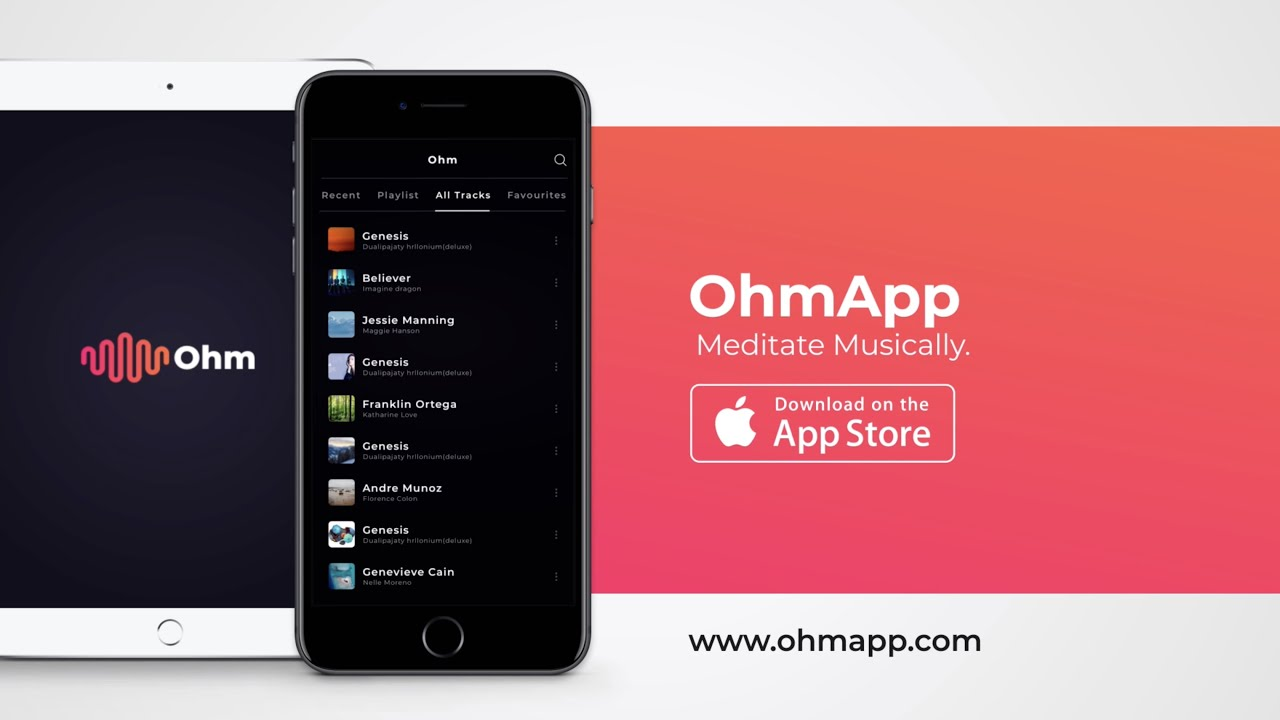 Ohm App Meditate Musically Product Hunt