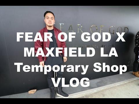 Fear of God x MaxField Temporary Shop + Trying Yeezy Season 3 Vlog