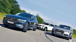 2017 Audi Q5 Vs 2017 Mercedes GLC Vs 2017 Volvo XC60