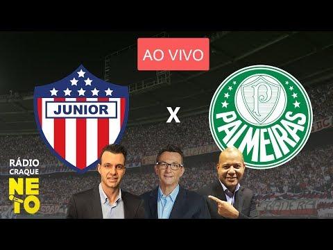 Resultado de imagem para - Palmeiras x Junior Barranquilla - Rádio Craque Neto