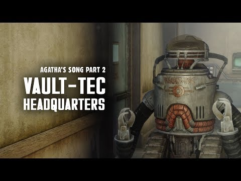 Agathas Song Part 2: VaultTec Headquarters in DC  Fallout 3 Lore