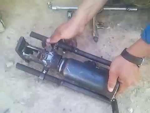 Comment Faire Un Extracteur Hydraulique De Rotule?partie:2 .rachid Charchaf    YouTube
