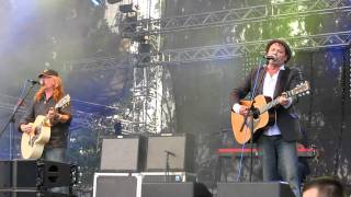 The Levellers - The Boatman + didgeridoo live @ RfP 2011, Czech Republic [HD]