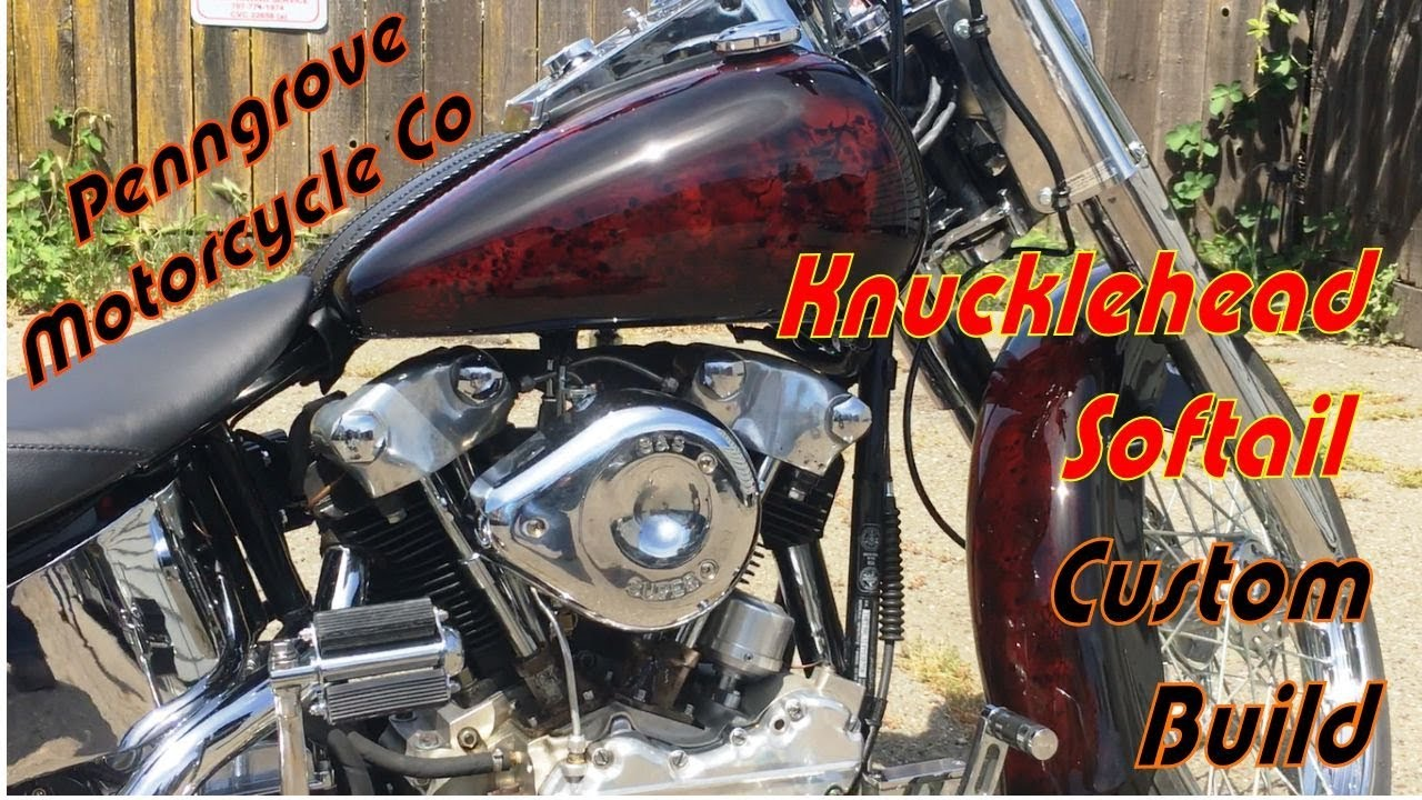 c2a365c29 Read more Northern California's Penngrove Motorcycle Company is the home of  this custom Harley-Davidson Knucklehead Softail build which will be  featured in ...