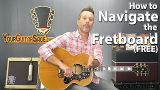 How to Navigate the Fretbaord LIVE Webcast Plus FREE Guitar Giveaway