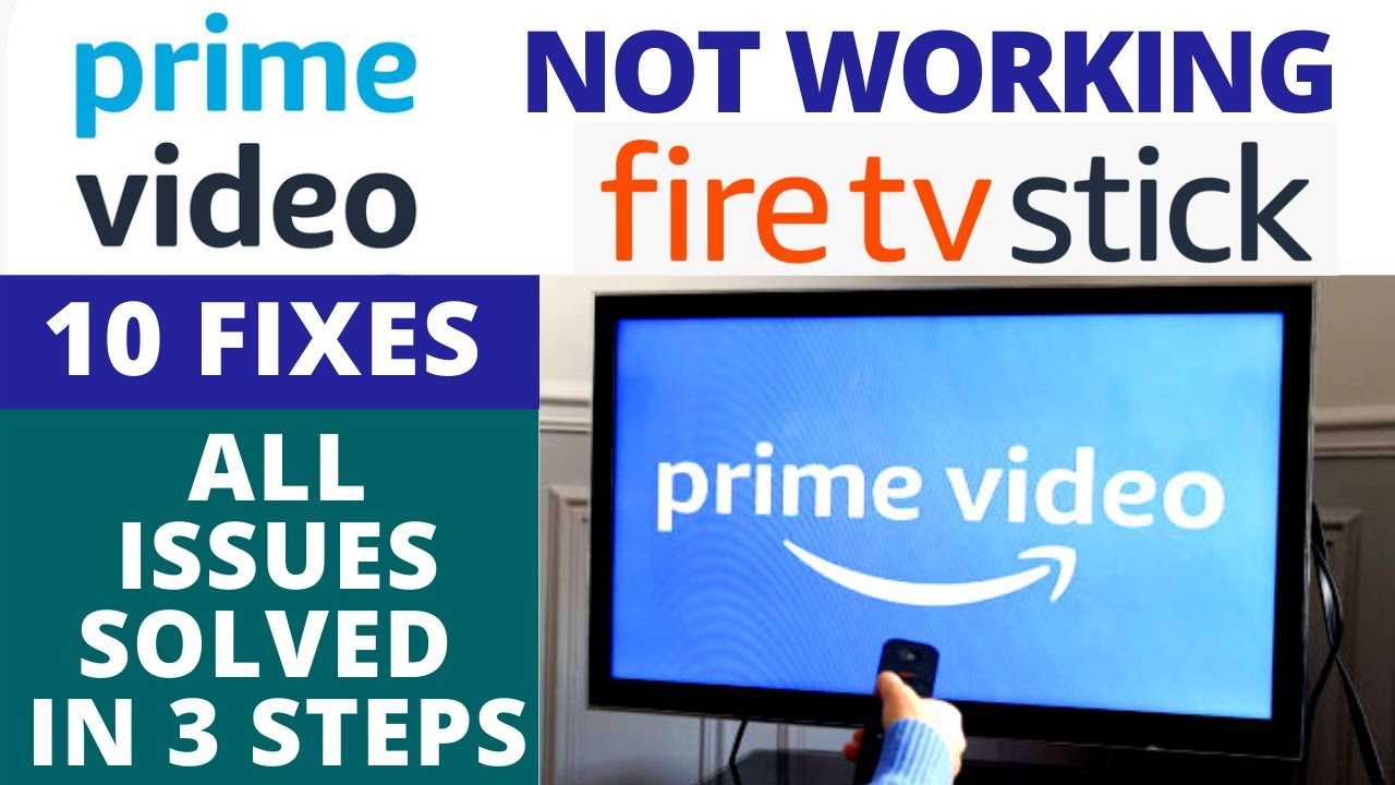 Amazon Prime Video Not Working on Amazon Fire TV Stick ?? 10 Most Effective Solution - Easy Fixes