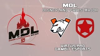 Virtus.pro vs Gambit | MDL Disneyland® Paris Major