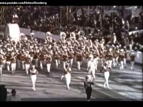 January 20, 1961 - President John F. Kennedy's Inaugural Parade along Pennsylvania Avenue