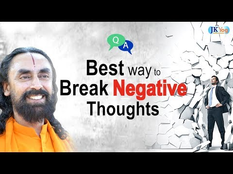 MIND is Creating Negative Thoughts - How to Break Them? | Q/A with Swami Mukundananda