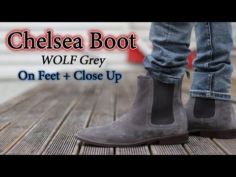Chelsea Boot (Wolf Grey) On-Feet w/ Different Pants [Affordable]
