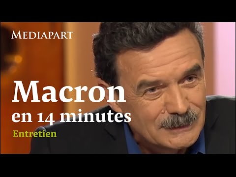 Emmanuel Macron : 2h38 d'entretien résumées en en 14 minutes